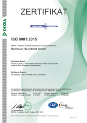 Zertifikat 2015
